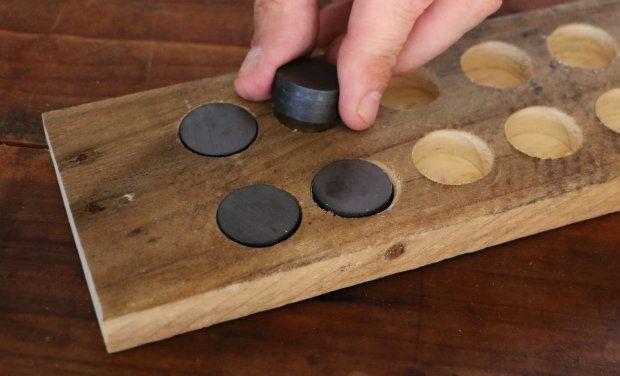 Unordnung Adé! Heute Bauen Wir Uns Ein Magnetisches Messerbrett Für Die  Küche.