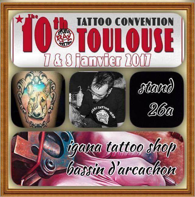 Ce week-end, j'accompagne @vinz_igana_ sur son stand à la convention Tattoo …   – Instagram
