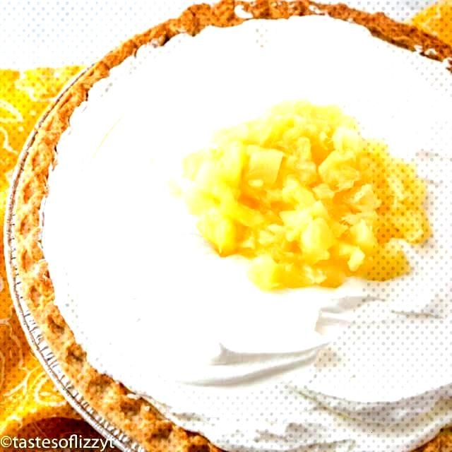 Amish Pineapple Pie Creamy, Cool, Easy Pie Recipe that you Dont Have to Bake - PIES amp PIE CRUST