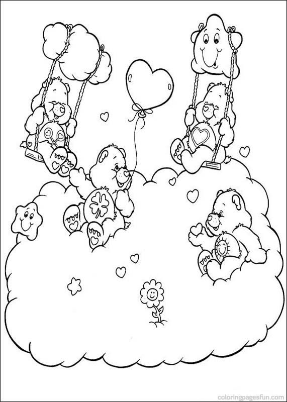 Care Bears Coloring Pages 49