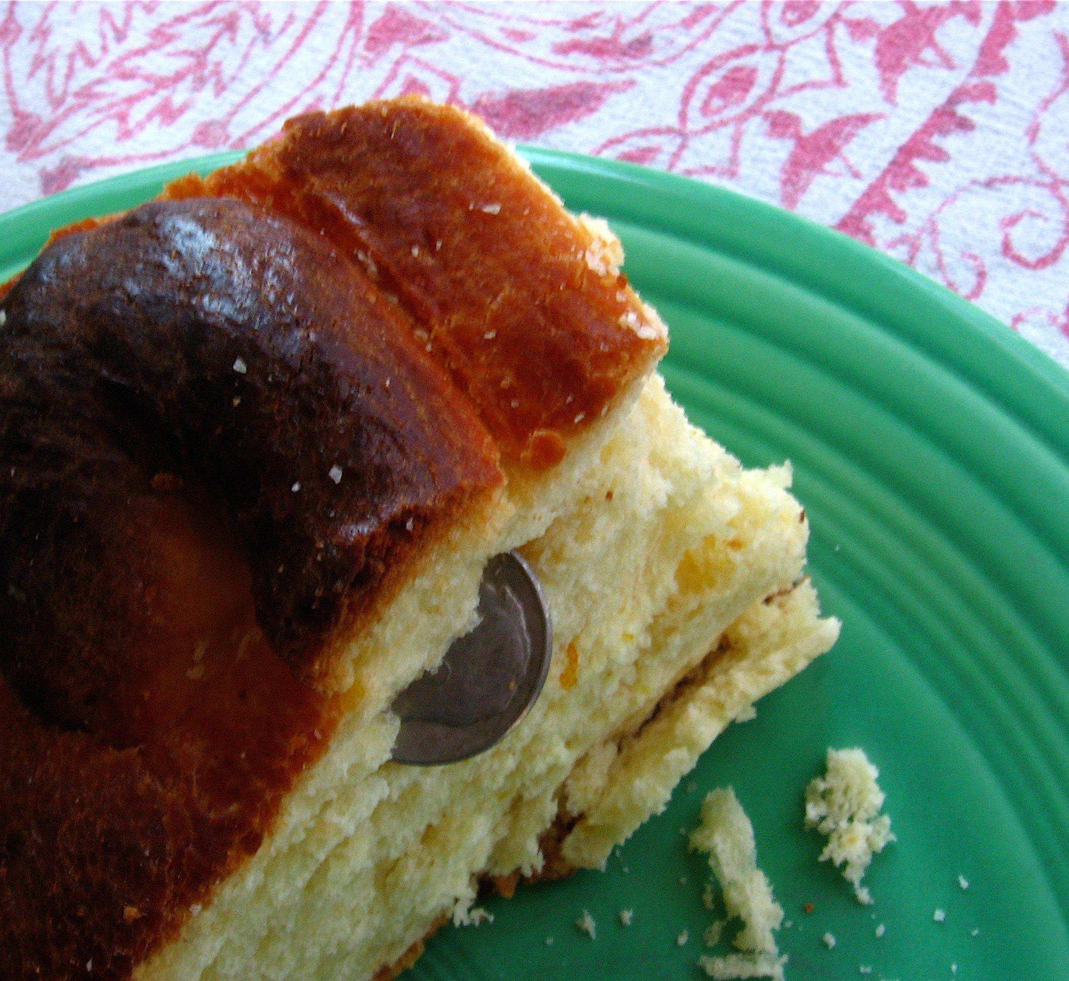 Party Like The Greeks This New Year By Making Vasilopita Recipe Greek Pastries Greek Cake New Year S Cake
