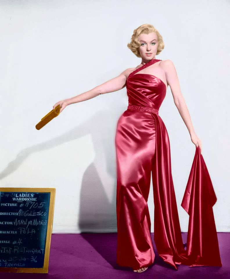 Marilyn Costume Test For How To Marry A Millionaire