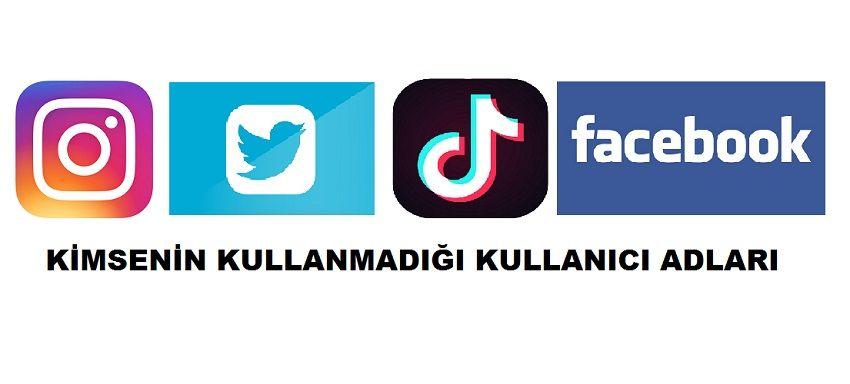 Kimsenin Kullanmadigi Kullanici Adlari Sizleri Facebook Instagram Tik Tok Twitter Gibi Sosyal Medya Da Daha Ilgi Cekici Hale Getirecek Adlar Sober Isaretler