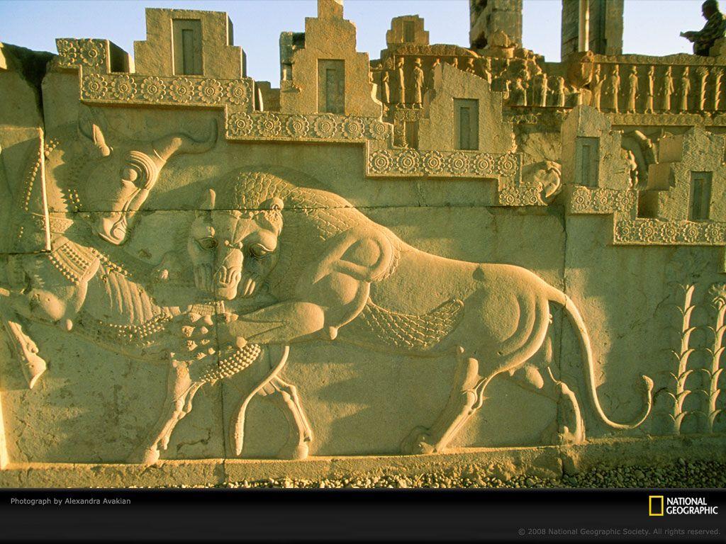 Persian Ruins Persepolis Iran 1999 Ancient Persian Ancient Persia Persian Architecture