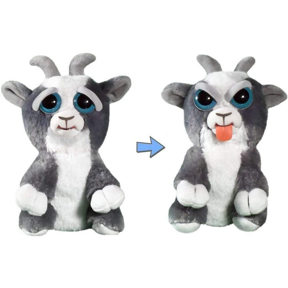Feisty Pets Plush Junkyard Jeff Goat (Tongue Out) Pets