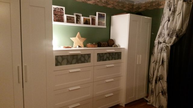 Aneboda Wardrobe And Brimnes Dresser