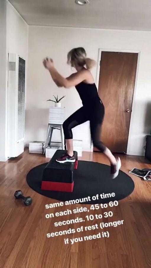 Workout Homeworkouts Backpain Step Workout Step Up Workout