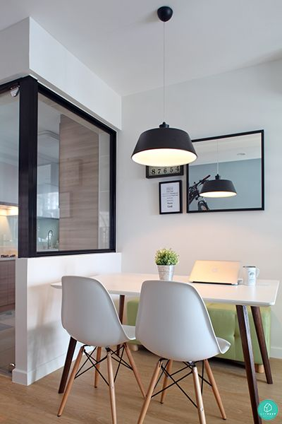 Simple Minimalist Dining Set: Simple Home Designs You'd Love To Go Home To