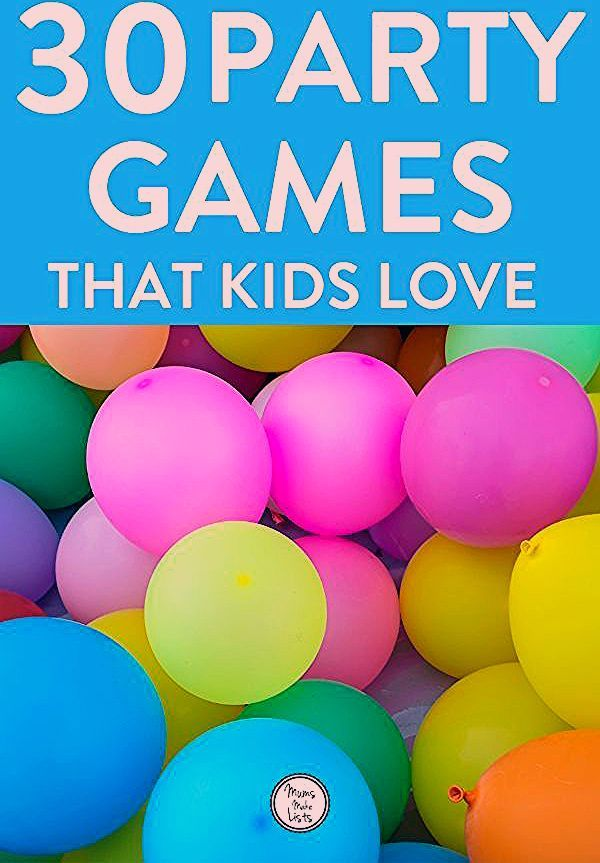 Photo of MASSIVE LIST OF THE BEST kids party games – Mums Make Lists