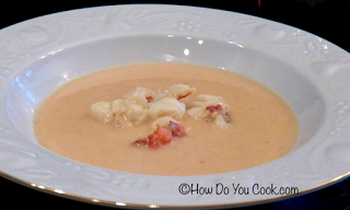 Creamy and Elegant Lobster Bisque