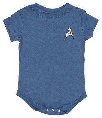 Amazon.com: Star Trek Uniform Onesies: Clothing