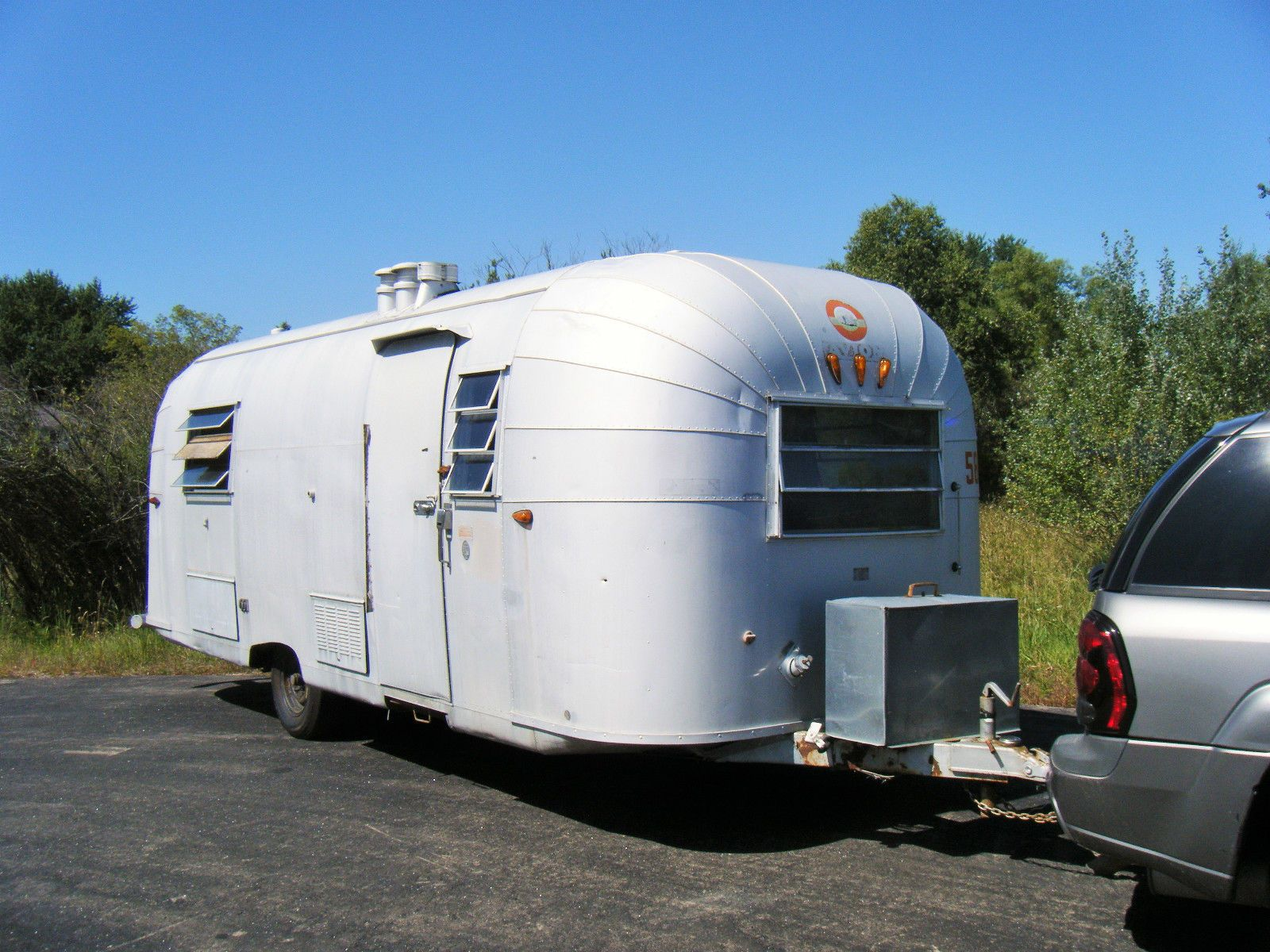 Details about 1964 Airstream H-24 | 1964 T-27 AVION CAMPER
