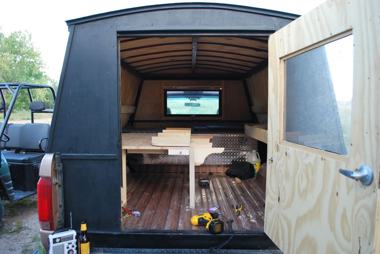 Homemade Camper S Designs Google Search Truck Bed
