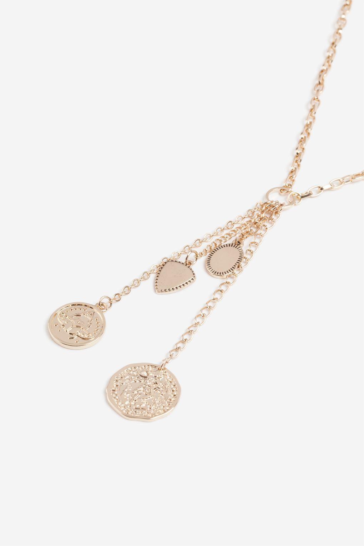 Multi charm pendant necklace jewelry bags u accessories