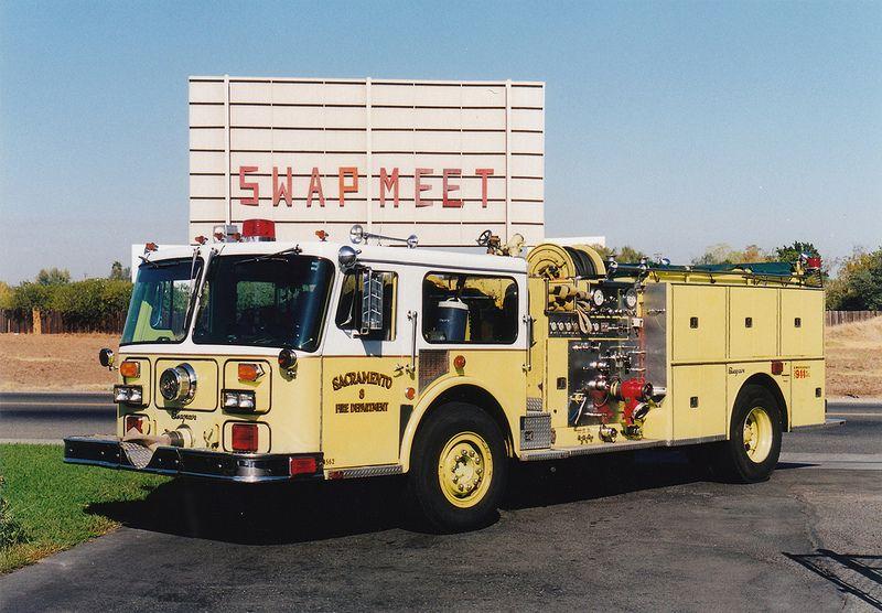 Sacramento FD - Former Engine 8