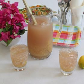 Natural Pink Pineapple Lemonade #SundaySupper #pineapplelemonade Food Lust People Love: Natural Pink Pineapple Lemonade #SundaySupper #pineapplelemonade