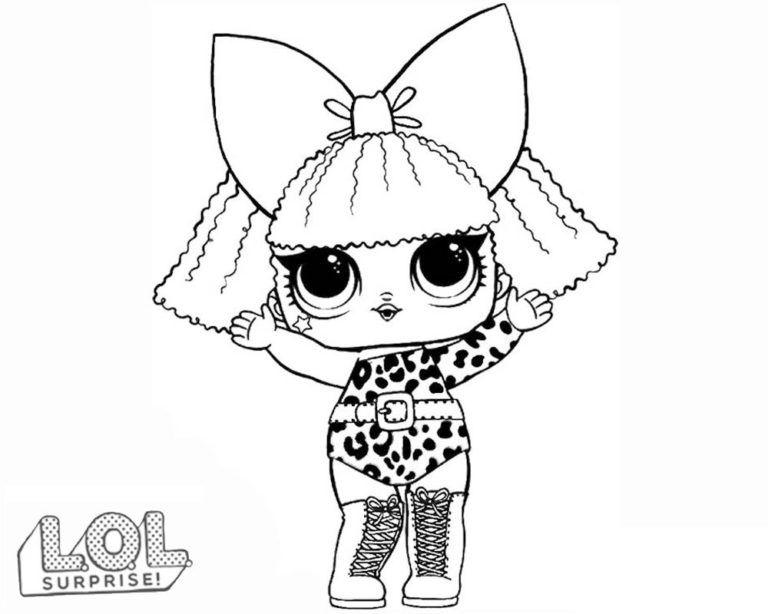 Lol Surprise Dolls Coloring Pages Print Them For Free All The Series Lol Dolls Coloring Pages Cartoon Coloring Pages