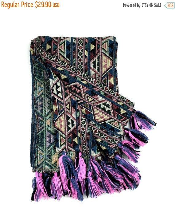 Bohemian Throw Blankets Tribal Aztec Blanket Bohemian Throw Blanket 38 X 59Tribalover