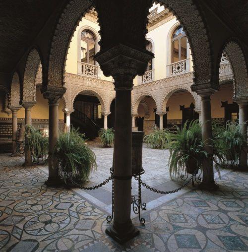 Palacio De Lebrija Sevilla Palacios Andalucia España