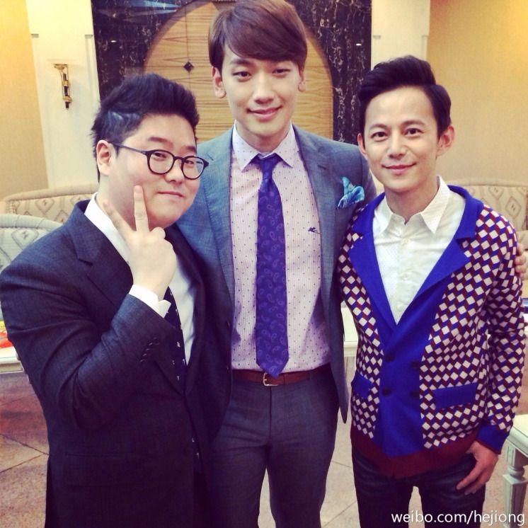 [full][program][images] HuNan TV's Happy Camp: Asia's handsome superstar Rain's return! (3/8)