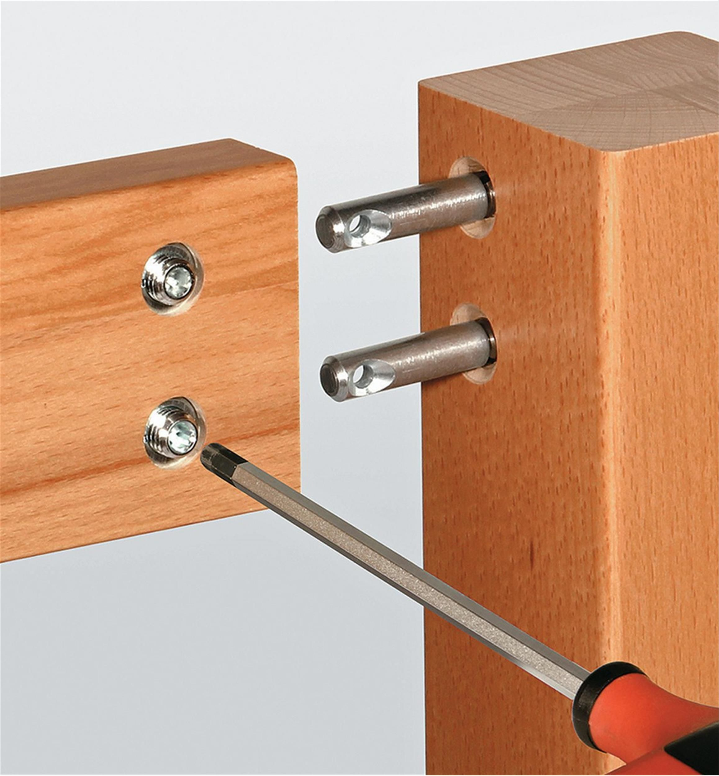 Quick Connect Fittings Connection Hardware Fasteners Wood Joints