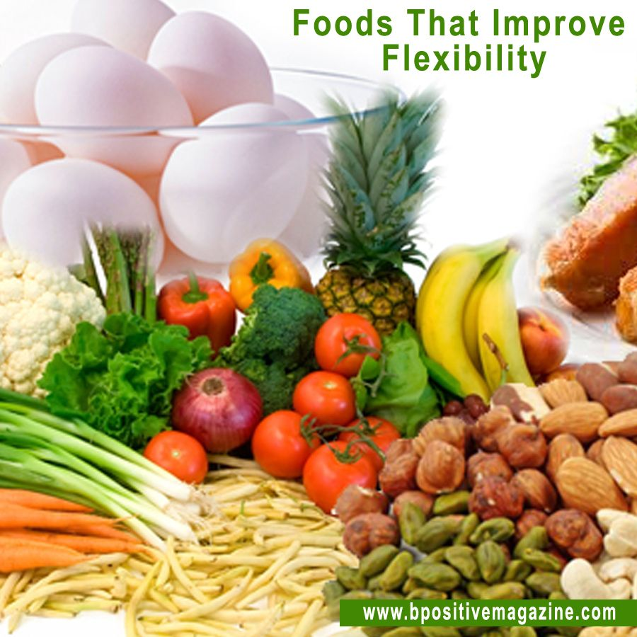 Learn Which Foods Can Improve Your Flexibility Fibroid Diet Food Therapy Diet And Nutrition
