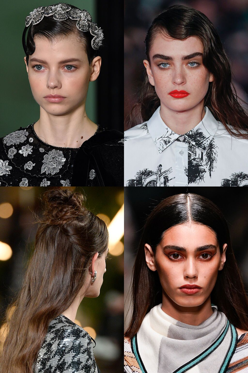 Welche Frisuren Tragen Wir 2020 2021 Die Trends Aus London Paris Mailand Und New York Verr Trendfrisuren Schone Frisuren Kurze Haare Welche Frisur Steht Mir