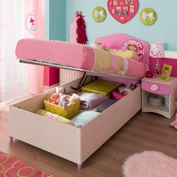 Resultado de imagen para camas para ni as decoraci n de for Camas nidos para ninas