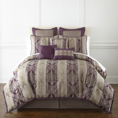 Home Expressions Toulouse 7 Pc Jacquard Comforter Set