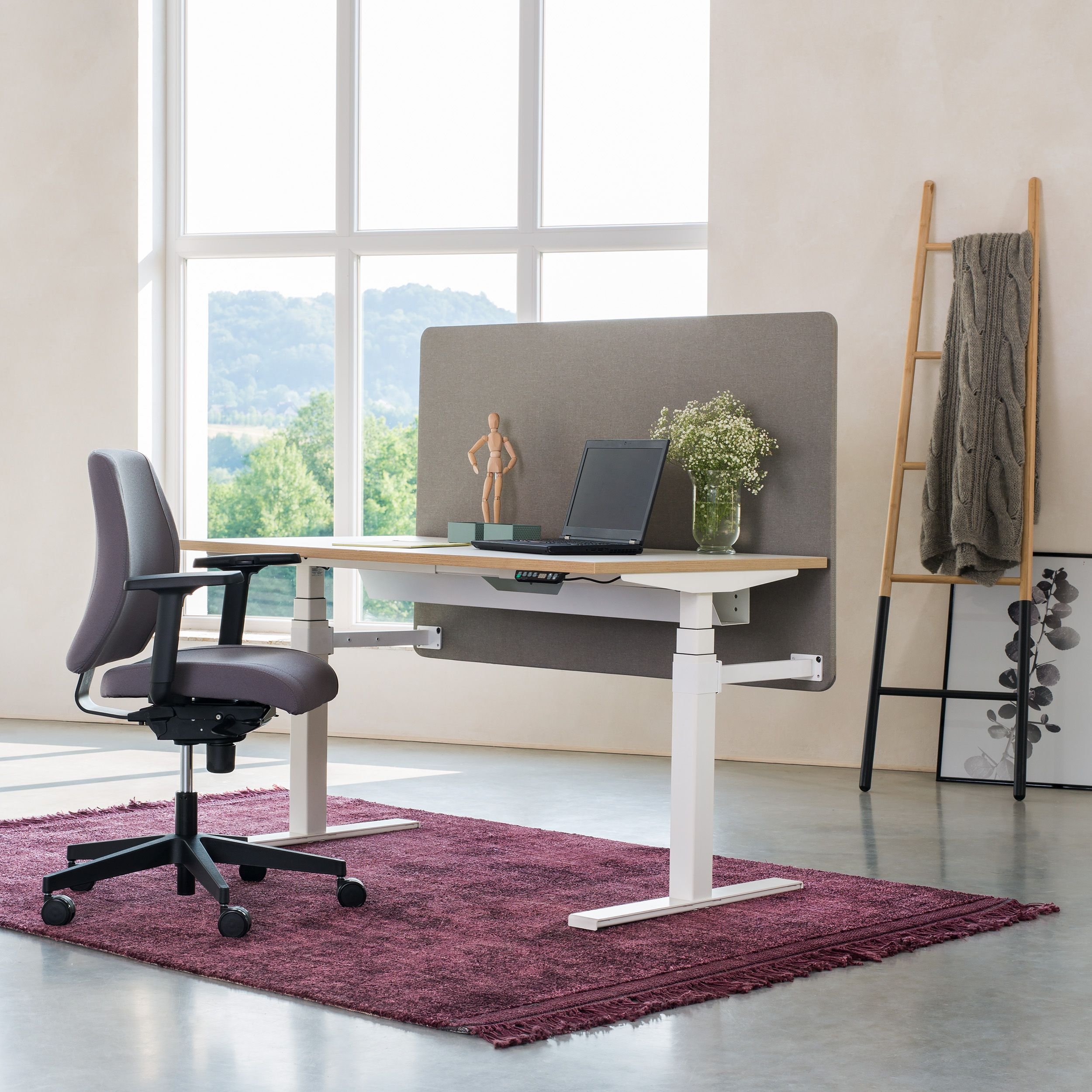 In Accordance With The Concept Of A Flexible Office That