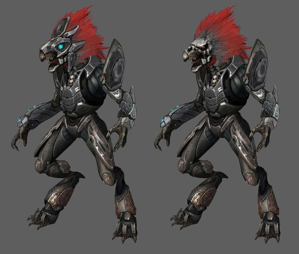 Skirmisher from Halo: Reach #illustration #artwork #gaming ...