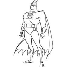 Dessin A Colorier Batman Super Heros 2 Coloriages A Imprimer Coloriage Batman Coloriage Super Heros Batman