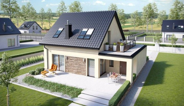 House Design E14 Ii Economic G1 Home Design In 2020 Bungalow House Design House Designs Exterior Architecture House