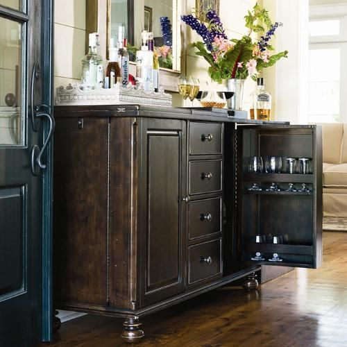 Used Kitchen Cabinets Tampa: Details About Captain Mike's Home Bar In Tobacco Dark Wood