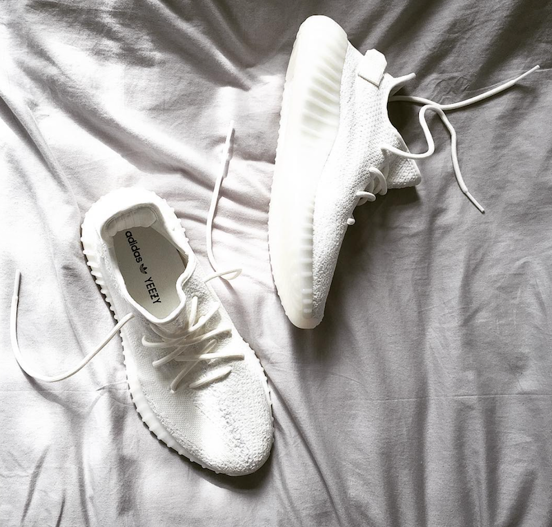 "e76cd5f9 Yeezy 350 Boost V2 ""Cream White"" 