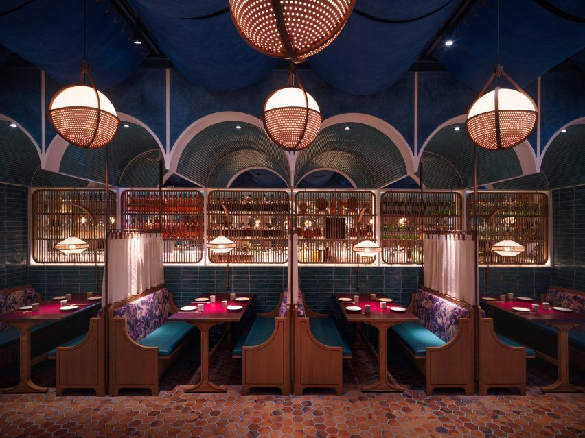 Dim Sum Restaurant By Linehouse Studio Fuses East And West Bar Design Restaurant Restaurant Interior Bar Design Awards