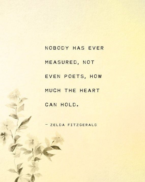 Zelda Fitzgerald quote print, literary quote, nobody has ever ...