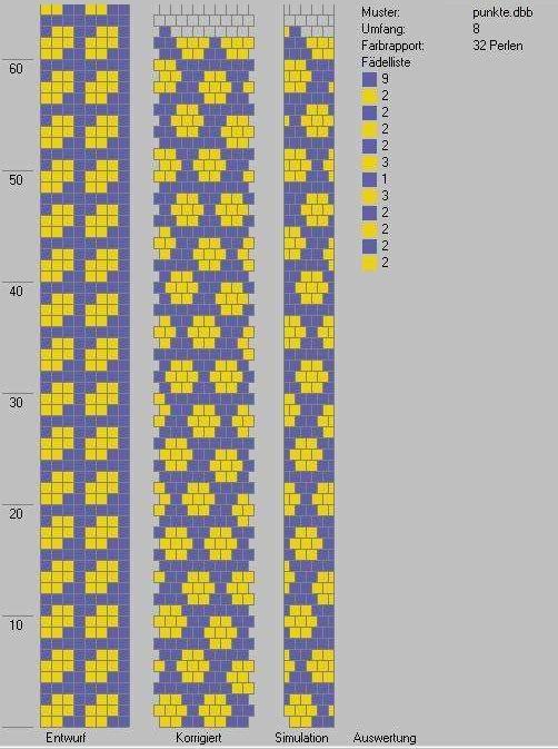Schlauchketten Häkeln Musterbibliothek Punkte Häkelketten
