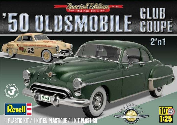 Revell 1950 Oldsmobile Club Coupe 2n1 Modelcars Com