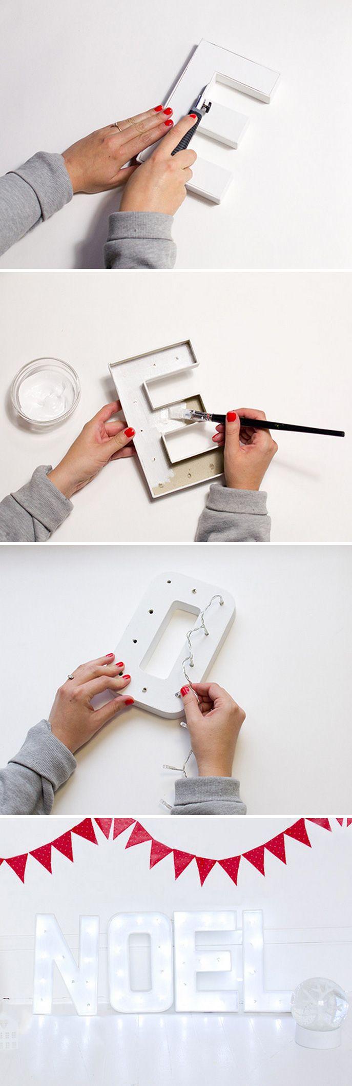 DIY : Noël lumineux – Vert Cerise - Blog DIY - Do It Yourself - lifestyle et créatif