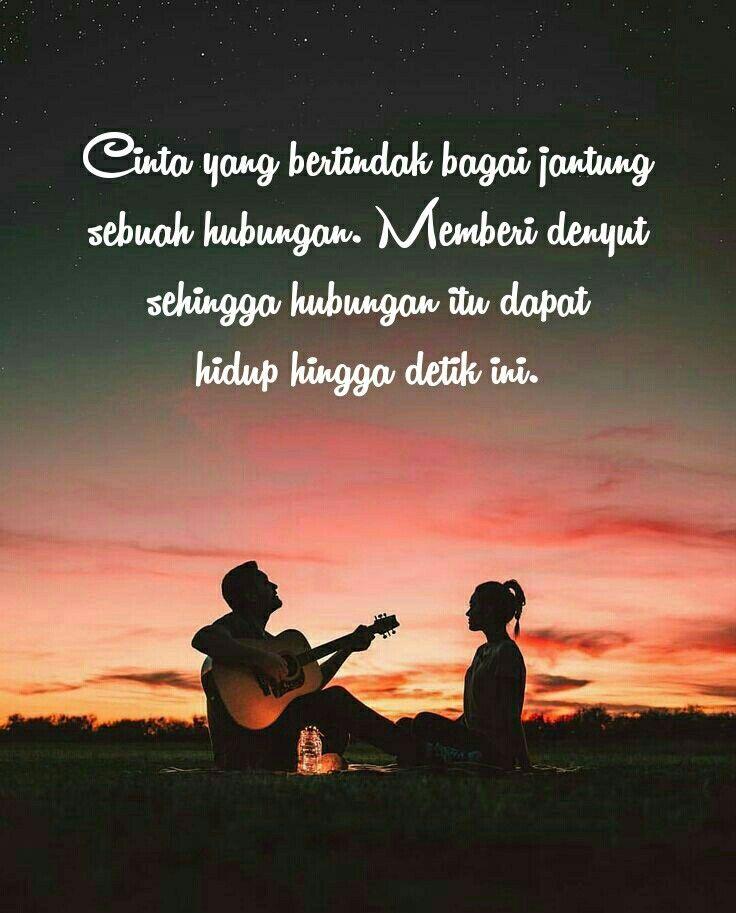 Kata Cinta Romantis Quotesindonesia Quotes Love Cinta