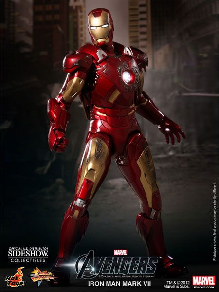 Iron Man Mark VII Sixth Scale Figure - Hot Toys - SideshowCollectibles.com
