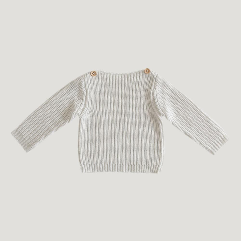 7953f7d9ca57 Rib Knit - Oatmeal Marle Beautiful boys and girls knitwear by Jamie Kay A  new style