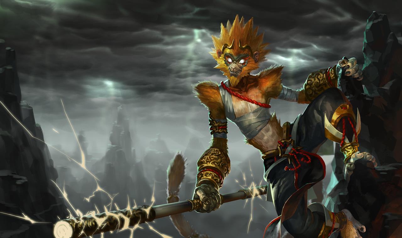 League Of Legends Skin Concepts Photo League Of Legends Art Monkey King
