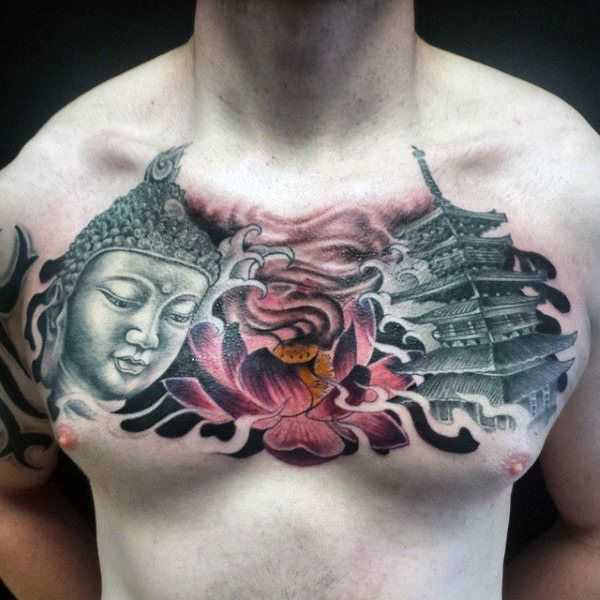 Top 103 Buddhist Tattoo Ideas 2020 Inspiration Guide Buddhist Tattoo Buddha Tattoo Tattoos For Guys