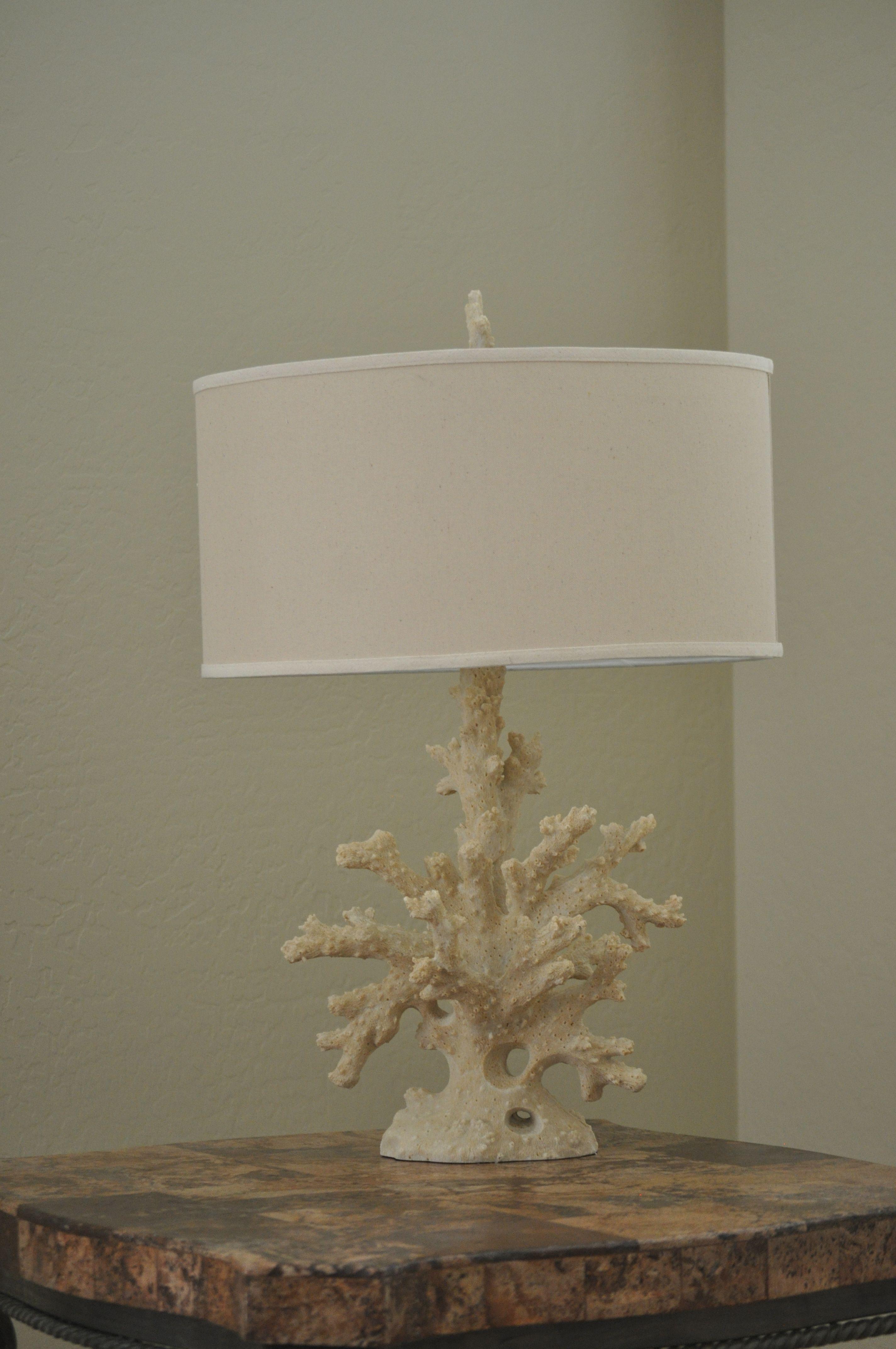 ocean lamps Coral lamp base, Coral lamp, Beautiful bedrooms