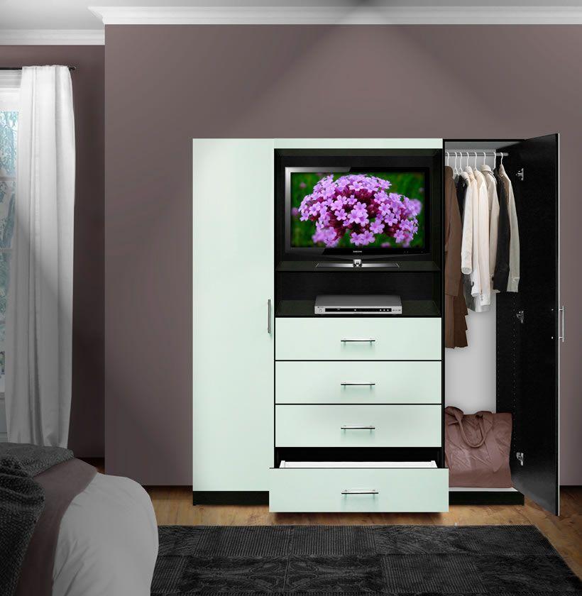 Aventa Bedroom Tv Armoire Contempo Space Armoire Tv Armoire