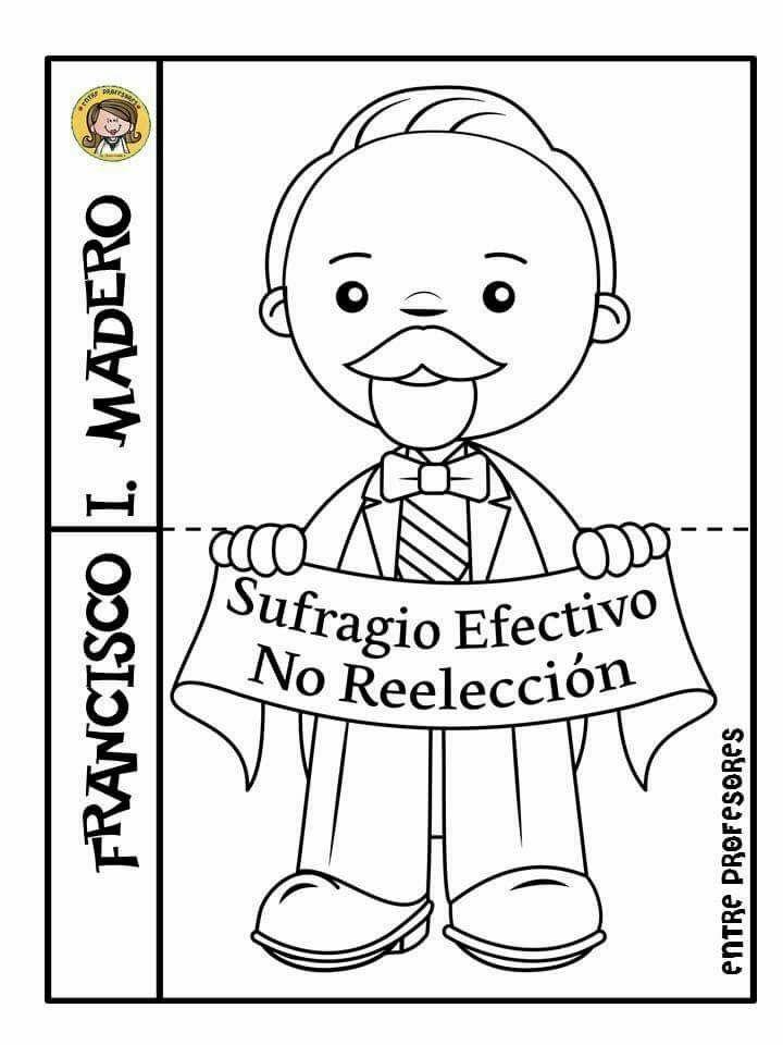 Fco I Madero Educación Infantil Activities For Kids Mexico Y School