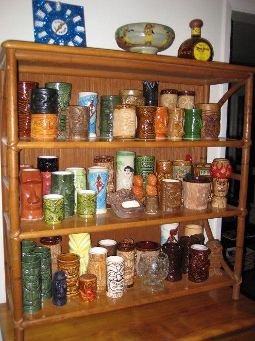 The Allee Willis Museum of Kitsch  Tiki collection  Tiki