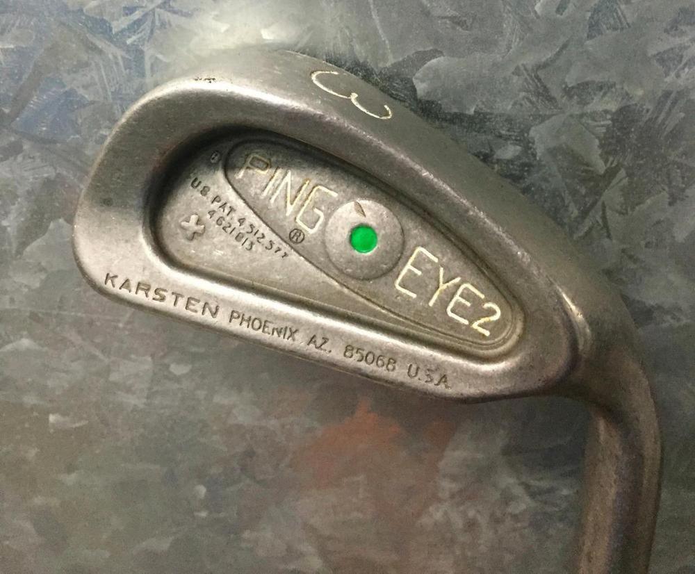 Ping eye 2 green dot 3 iron steel kt shaftgood condrhping golf ping eye 2 green dot 3 iron steel kt shaftgood condrh nvjuhfo Image collections